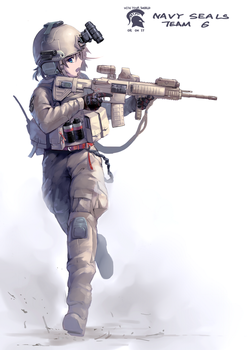 NAVY SEALS by The3rdcow