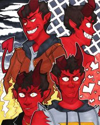 Monster Prom - Prince of Hell by JKSketchy