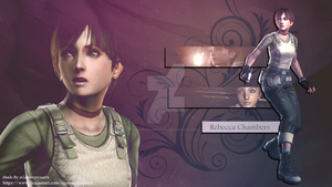 Resident Evil Rebecca Chambers Wallpaper 2 by xGamergreaserx
