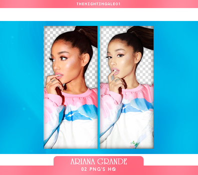 Ariana Grande - Pack Png #84 by TheNightingale01