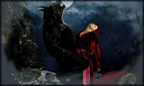Scarlet Witch and Werewolf: Impossible Love by Ysydora