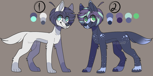 Double dogs Adopts CLOSED! Batch #2 (2/2) by Bubbles906