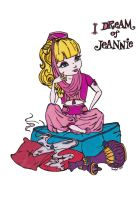 I dream of Jeannie Colored by Maiko-Girl
