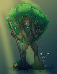 Oakhaven - DnD Character Commission by Fae-Fangs