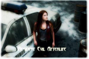 Claire Redfield -Afterlife by jaquefilth