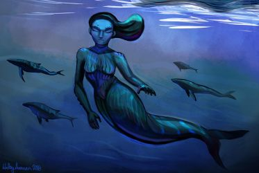 Mermay WHALE by Inprismed