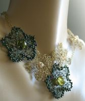Flower Garden necklace by Bodza
