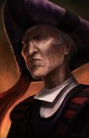 Claude Frollo by DeivCalviz