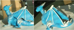 Clay dragon by x----eLLiE----x