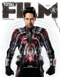 Ant-Man Total Film magazine cover by Artlover67