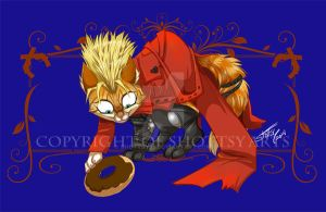 Vash kitty Tblue by shottsy85