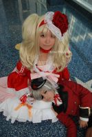 Black Butler Ciel and Lizzy by MyCosPlayPhotos