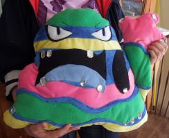 Alolan Muk cushion