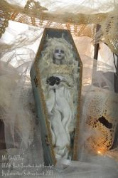 Ghost doll Haunted Banchee BJD by SutherlandArt