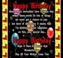 Birthday Poster by Me2Smart4U