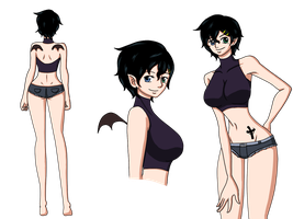One Piece Anae fiche ref by Renarde83