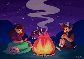 S'mores and more by TheKingKez