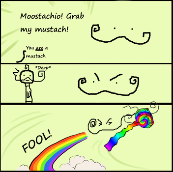 Moostachio Grab my........ by cryptonikewolf