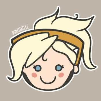 Cutie Pie Mercy by punziebelle