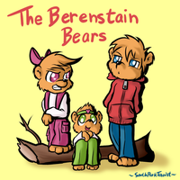 The Berenstain Bears 002 by SouthParkTaoist