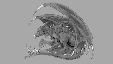 fast dragon sketch up by JTF3