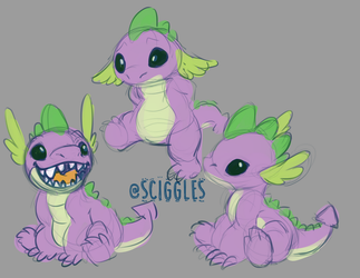 MLP: Spike Stitch by Sciggles