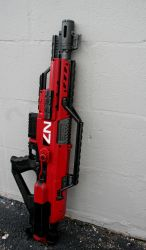 Mass Effect Nerf Stampede 3 by JohnsonArmsProps
