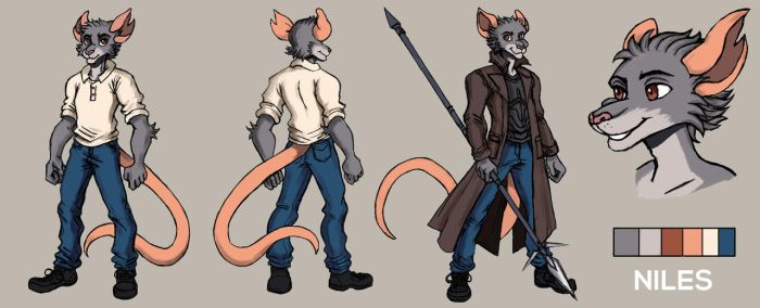 Niles - REF SHEET by TheLivingShadow