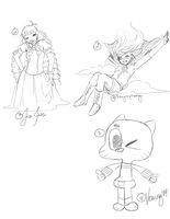 10 Sketch Requests by Sky-Ripple
