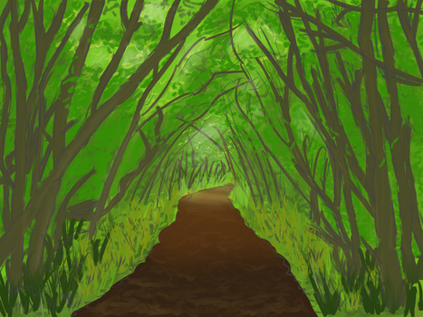 [Study] Woods by Minnesay