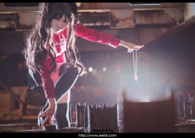 Fate Stay Night Rin Tohsaka Cosplay 01 by eefai