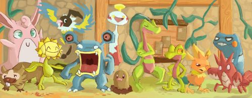 Wigglytuff's Guild by ColorsAreAwesome