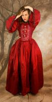 red dress terror by magikstock