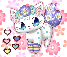 Flower Kitten Auction ~ CLOSED ~ by ForeverFluffyAdopts