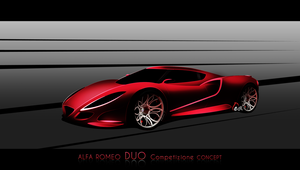 ALFA ROMEO DUO Competizione Concept by EDLdesign by EDLdesign