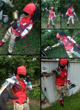 Borderlands 2 Mordecai Cosplay by Courtney-Crowe