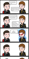 Shepard recruits Sean by DanteDT34