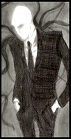 -Finished Pic- Slenderman by Cageyshick05