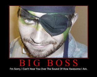 It's a Big Boss Halloween by Mister-Cote