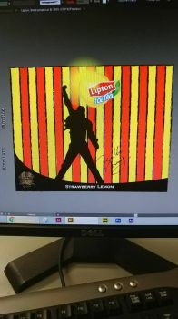 Packaging class. Lipton, Queen  by soulSmith1