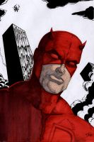 Daredevil marker sketch by The-Standard
