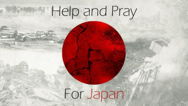 Help and Pray for Japan by axvitor