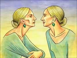 Looking at Myself by BenHeine