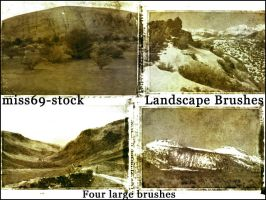 Landscape Brushes by miss69-stock
