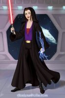 Aura/Darth Vixen (Star Wars OC) by suburbantimewaster