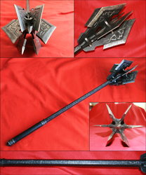 Sauron's mace (not movie design) by Kaaile