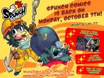 Spunch Comics is back with an English version! by Rafchu