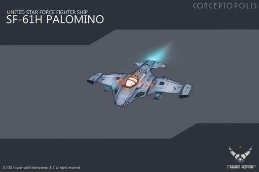 SF-61H-Palomino-MK3 color by Conceptopolis