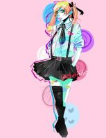 Too Much Color Lololol by leslietendo