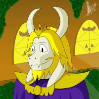 The Many Faces of Asgore Dreemurr ANIMATION by ilar17